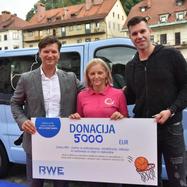 Koš za dober namen, Ljubljana